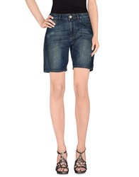 Haikure Denim Denim Bermudas Women Blue