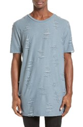 Drifter Men's 'Gebel' Distressed T Shirt