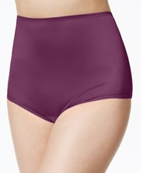 Vanity Fair Perfectly Yours Ravissant Nylon Brief 15712 Sangria