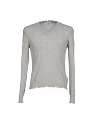 Macchia J Sweaters Light Grey