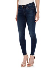 Lucky Brand Cotton Stretch Skinny Jeans Azure Blue