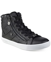 G By Guess Maker High Top Sneakers Women's Shoes Black