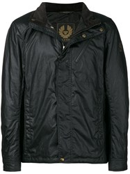 Belstaff High Neck Jacket Black
