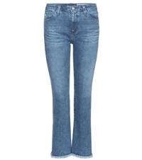 Ag Jeans Jodi Crop Denim Blue