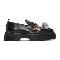 Eytys Black Phoenix Loafers