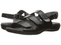 Trotters Kendra Black Pewter Women's Sandals