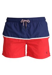 Gant Cut And Sewn Swimming Shorts Bright Red