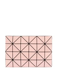 Bao Bao Issey Miyake Lucent Two Tone Pvc Pouch Pink