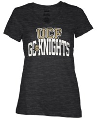 Royce Apparel Inc Women's Ucf Knights Beaux Bridge T Shirt Black