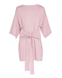 Ted Baker Olympy Tie Front Knitted Tunic Pink