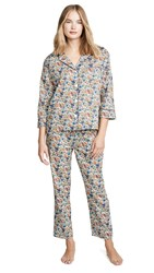 Sleepy Jones Marina Pj Set Rachel Multi Floral