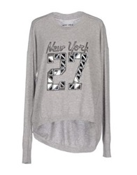 Brand Unique Sweaters Light Grey