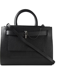 Carven Structured Tote Black