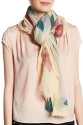 Vince Camuto Maze Square Scarf Pink
