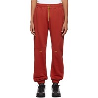 Pyer Moss Red College Slouch Lounge Pants