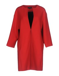 Strenesse Overcoats Red