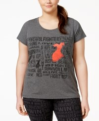 Ideology Plus Size Go Red For Women Graphic T Shirt Only At Macy's