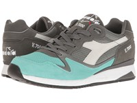 Diadora V7000 Premium Golden Straw Athletic Shoes Gray