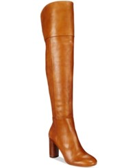 Inc International Concepts Women's Tyliee Over The Knee Boots Only At Macy's Women's Shoes Luggage
