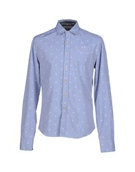 Meltin Pot Shirts Shirts Men Azure