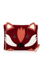 Charlotte Olympia Fox Pouch Rust