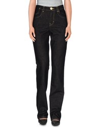 Jeans Les Copains Denim Denim Trousers Women Black