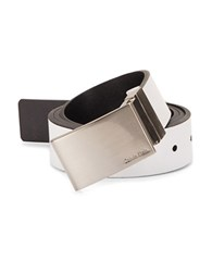 Calvin Klein Reversible Leather Belt White