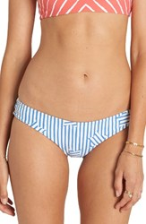 Billabong Women's Off Tide Hawaii Lo Bikini Bottoms Blue