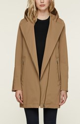 Soia And Kyo Straight Fit Trench Coat Almond