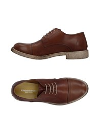 Primo Emporio Lace Up Shoes Brown