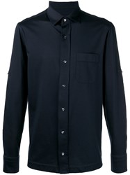 Tom Ford Chest Pocket Shirt Blue