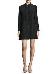 Equipment Demi Button Up Shift Dress True Black