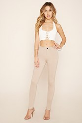 Forever 21 Flat Front Skinny Pants