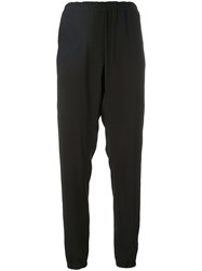 Wunderkind Classic Sweatpants Women Polyester Triacetate 38 Black