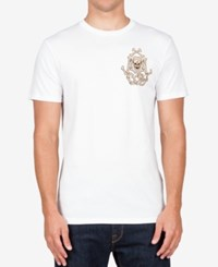 Volcom Men's Graphic Print T Shirt White