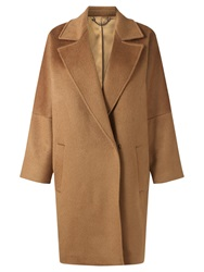 Jigsaw Cocoon Coat Toffee