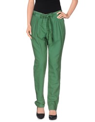 Gold Case Sogno Trousers Casual Trousers Women Green
