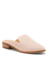 Lucky Brand Christley Nubuck Leather Mules Pink