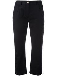 Kenzo Fit And Flare Jeans Black