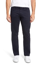 Mavi Jeans Men's Big And Tall Zach Straight Fit Twill Pants Dark Navy Twill