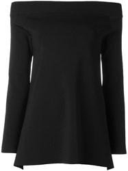 Solace 'Frida' Backless Blouse Black