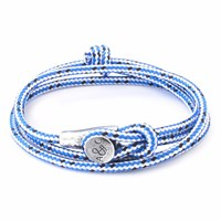 Anchor And Crew Blue Dash Dundee Rope Bracelet