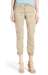 Women's Sanctuary 'Peace Trooper' Crop Cargo Pants Real Khaki