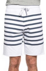 Tailor Vintage Sailor Stripe Shorts White