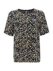 Therapy Animal Print Shell Top Multi Coloured