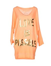 Happiness T Shirts Apricot