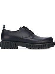Valentino 'Punky Ch' Derby Shoes Blue