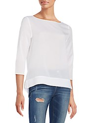 French Connection Polly Top Summer White