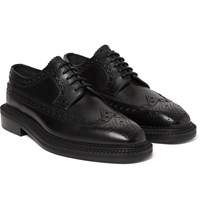 Burberry Leather Wingtip Brogues Black