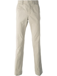 Aspesi Classic Chino Trousers Nude And Neutrals